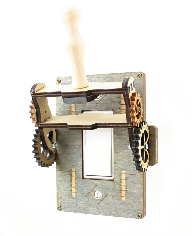 Steampunk Rocker Throw Switch 8101a