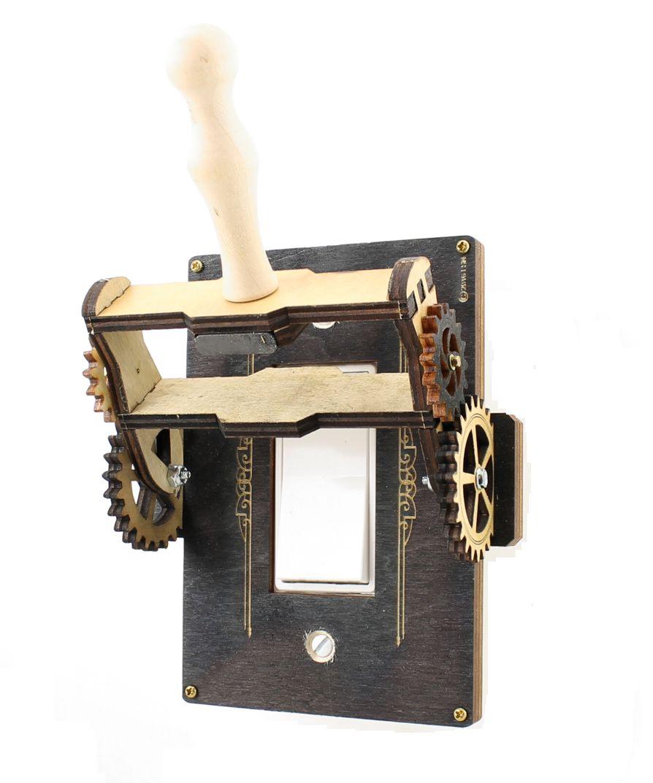 Steampunk Rocker Throw Switch 8101e
