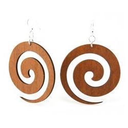 Cinnamon Swirl Earrings