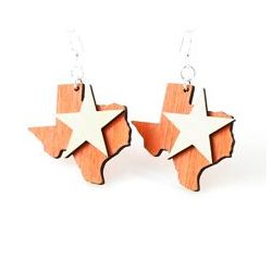 lone star state earrings