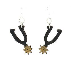 Spur Wood Earrings