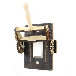 Steampunk Rocker Throw Switch - 8101B