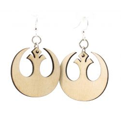 natural wood republic wood earrings