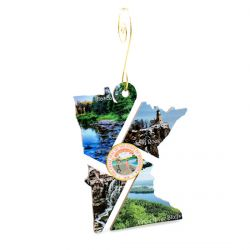 Minnesota Scenic Ornament