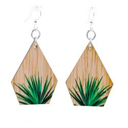 975 yucca bamboo earrings