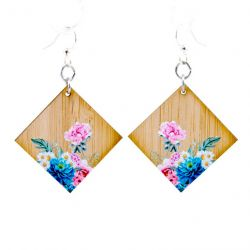 978 floral artistry bamboo earrings