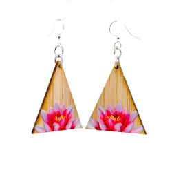 979 pinnacle lotus bamboo earrings