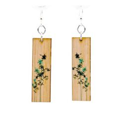 981 new growth bamboo earrings
