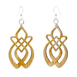 986 recrudescence bamboo earrings
