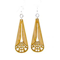 987 illuminating tri bamboo earrings