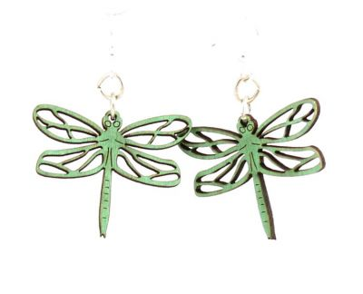 Emerald Dragonfly Blossoms