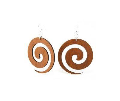 Cinnamon Swirl Earrings