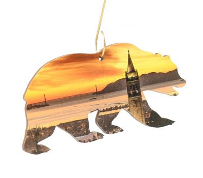 California Bear Ornament