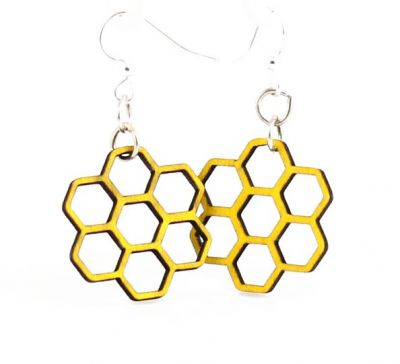 Yellow honeycomb blossoms
