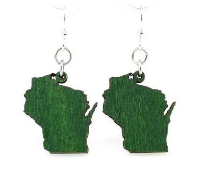 Wisconsin Earrings