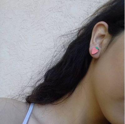 Earrings come as shown
