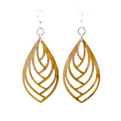 985 embrace bamboo earrings