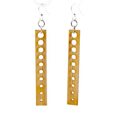 993 pointed drop bamboo earrings