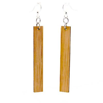 994 chic rectangle bamboo earrings