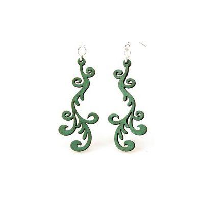 hollander wood earrings