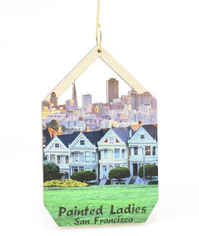 Painted Ladies Ornament