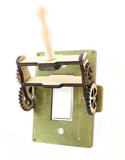 Steampunk Rocker Throw Switch - 8101B