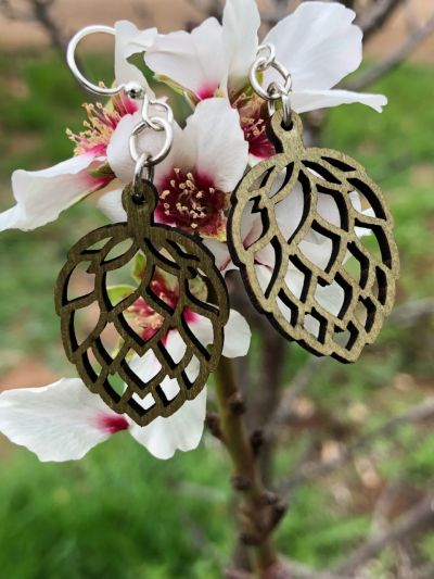 Earrings come as shown