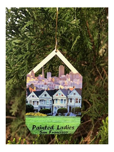 Painted Ladies Ornament Lifestyle Photo
