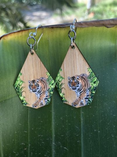 975 yucca bamboo earrings