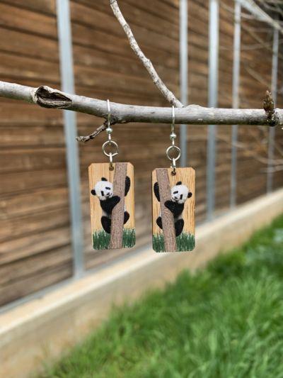 pamda bamboo earrings